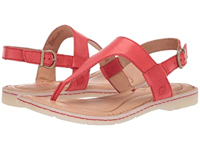 Born Taylor (Red Full Grain Leather) Women