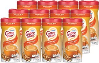 Nestle Coffee-mate Coffee Creamer, Hazelnut, Powder Creamer, 15 Ounces (Pack of 12)