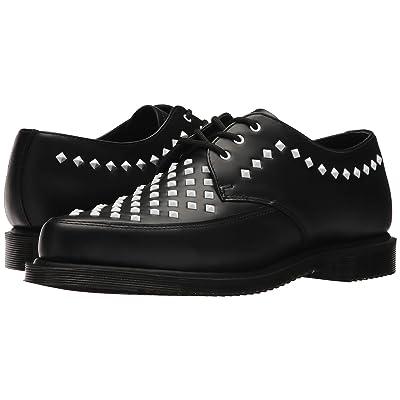 Dr. Martens Willis Stud Creeper (Black Smooth) Boots