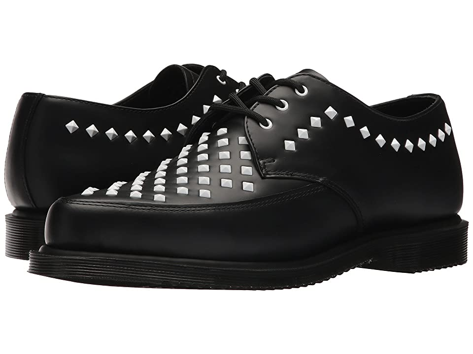 Dr. Martens Willis Stud Creeper (Black Smooth) Boots