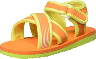 Chalk by Pantaloons Boy's Orange Outdoor Sandals-9.5 Kids UK (28 EU) (880000981)