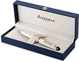 Waterman Expert stylo bille | ivoire avec attribut