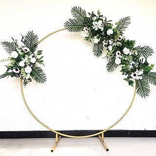 パーゴラ 組立 キットガーデンアーチ攀登 花廊花朵形状 DIY铁制拱门屋内、屋外、庭 组装简单ガーデンアーチ玫瑰拱形