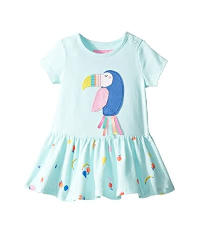 Joules Kids Katy Dress (Infant) (Aqua Fruit Toucan) Girl