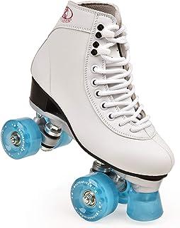 ZSHIYELL Skates Adult Double Roller Skates Four-Wheeled 4 Roller Skates Skating Rink Exclusive Adult Roller Skates