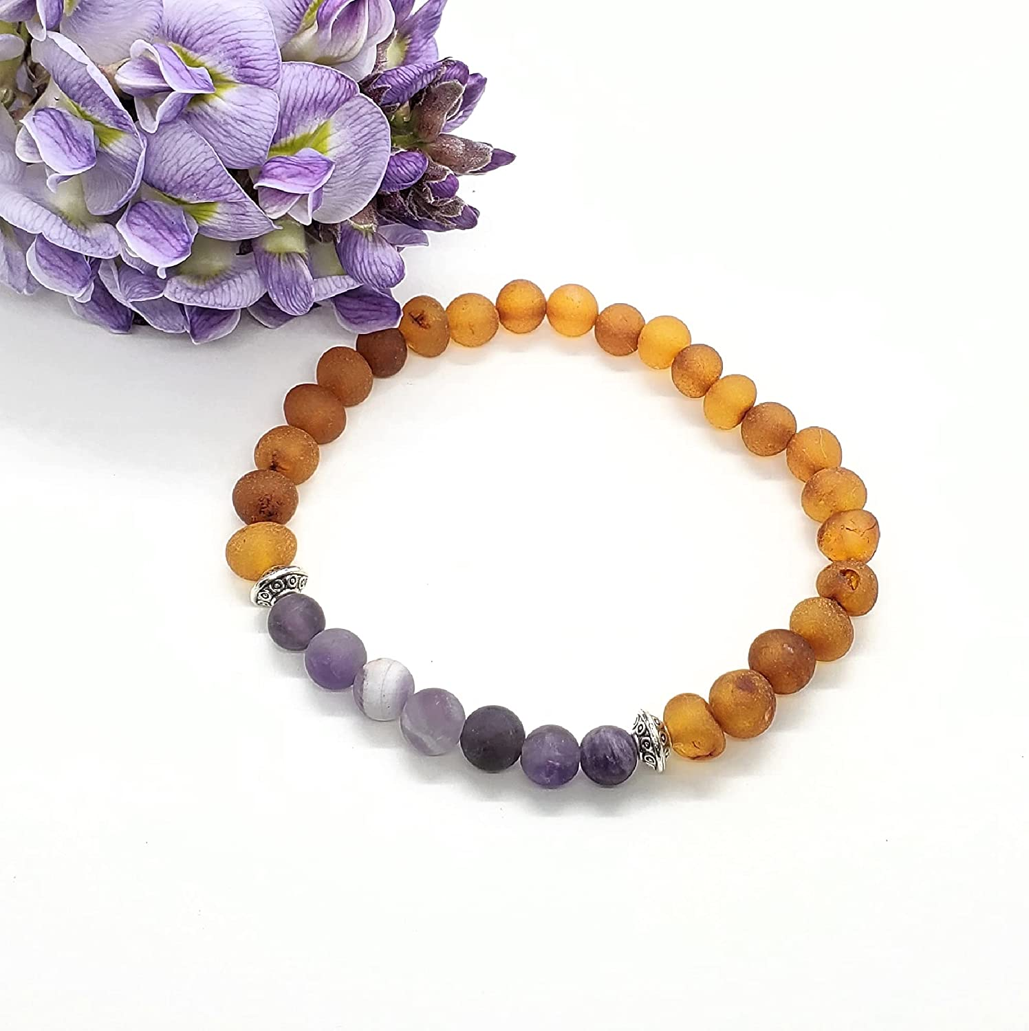 Remembrance Bracelet for Loss of Department store Loved with One service Baltic - Amber A