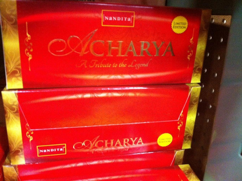 ふりをする曖昧なNandita Acharya Limited Edition ' Agarbathi ' Incense?–?15?G x 12パック