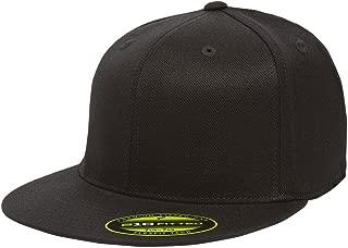 fitted hats flat bill