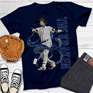 The Kraken El Gary Sanchez Best Catcher Release New York Baseball Customized Handmade T-Shirt Hoodie/Long Sleeve/Tank Top/Sweatshirt