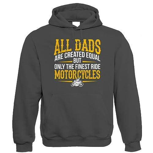 598b66525 Finest Dads Ride Motorcycles, Mens Biker Hoodie