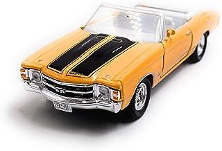 Onlineworld2013 1971 Chevelle SS 454 Zufällige Farbe! Modellauto Auto Maßstab 1:34 (lizensiert)