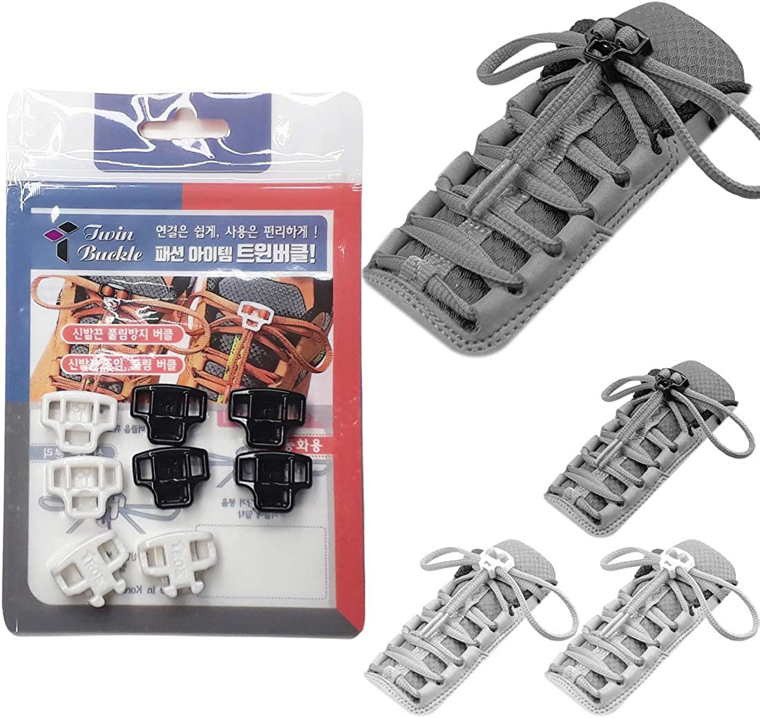 Twin Buckle – No Tie Shoe For Children Adults Sale special price Laces Max 50% OFF or Can