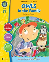Owls in the Family - Novel Study Guide Gr. 3-4 - Classroom Complete Press (Literature Kit)