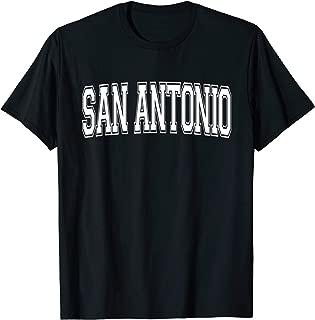 SAN ANTONIO TX TEXAS USA Vintage Sports Varsity Style T-Shirt
