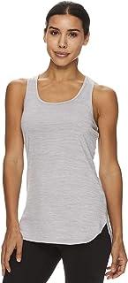 Reebok Women`s Running & Workout Tank Top - Legend Performance Singlet Racerback Exercise Shirt
