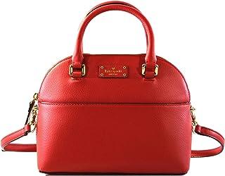 512eecd5b Kate Spade Mini Carli Grove Street Leather Women's Crossbody Bag Purse  Handbag, Red Carpet