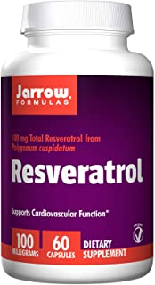 Jarrow Formulas Resveratrol 100 mg 60 Veggie Caps