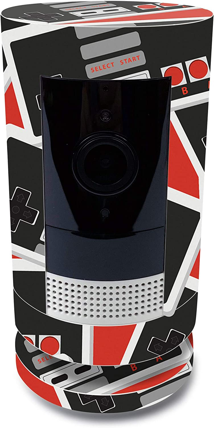 70% OFF Outlet MightySkins Skin Omaha Mall for Ring Stick Up - Retro Cam Controlle Battery