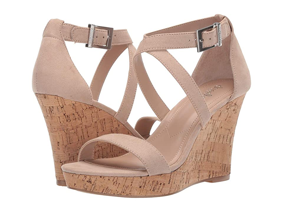 Charles by Charles David Launch Wedge Sandal (Nude) Women