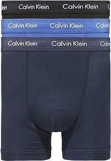 Calvin Klein Men's U2662G Boxer Trunks Pack of 3