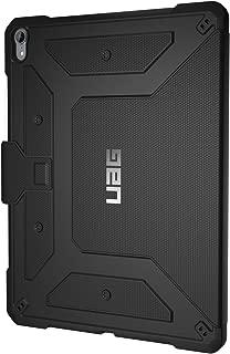【日本正規代理店品】 URBAN ARMOR GEAR 12.9インチ iPad Pro 第3世代(2018)用 METROPOLISケース ブラック UAG-IPDPROLF3-BK