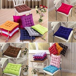 Amazon.es: cojines para sillas rosas