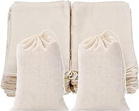 Best mini linen drawstring bags Reviews