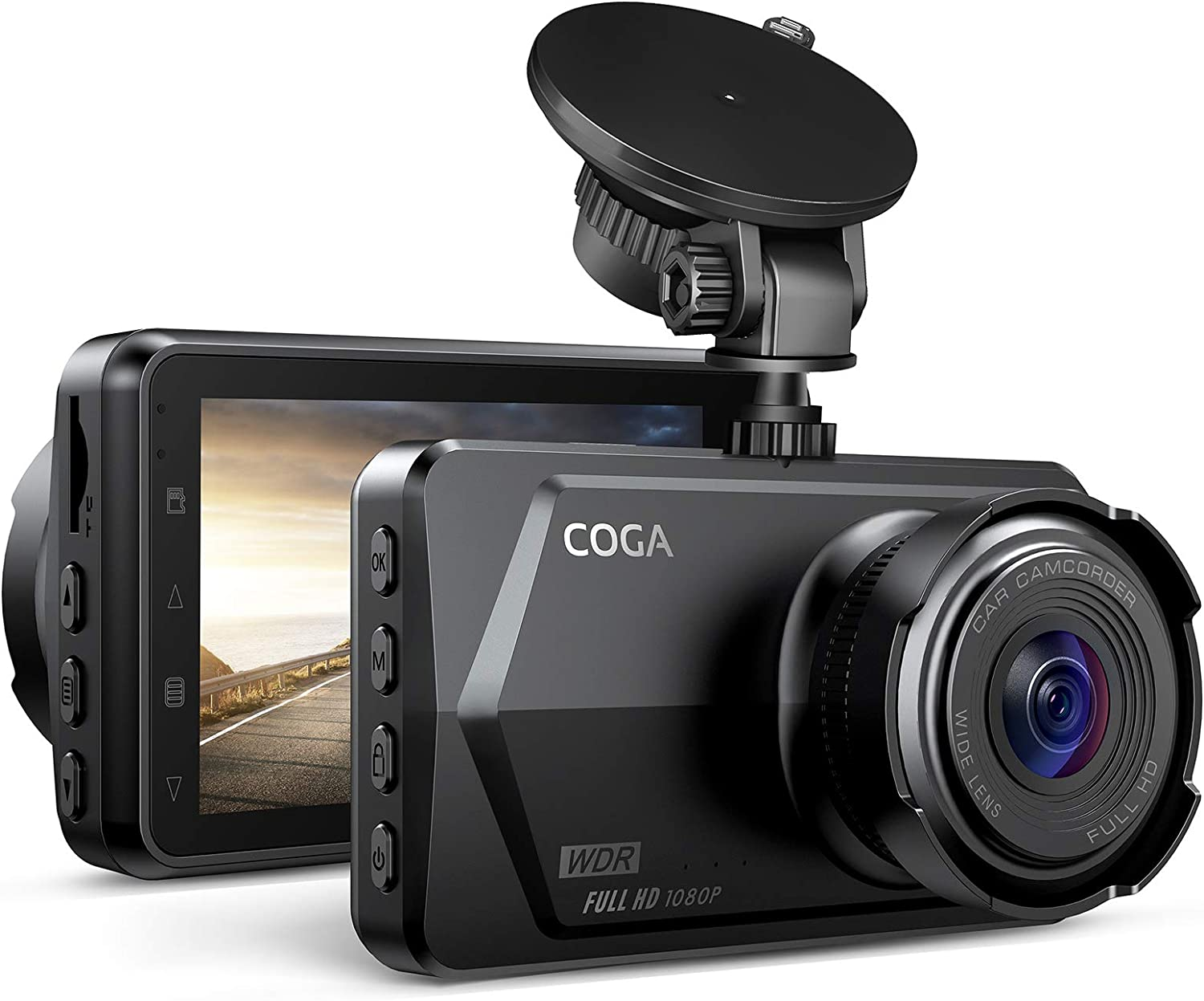 Dash Cam 1080P FHD wholesale with New product type Night Vision Car WDR Ca 2021 COGA