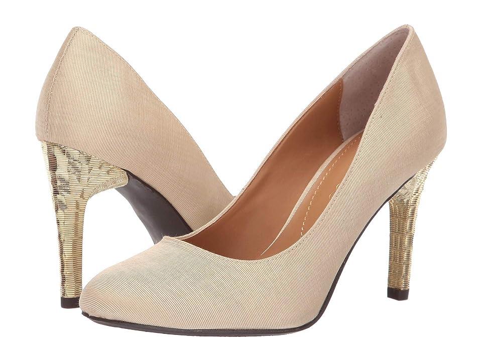 J. Renee Gilana (Beige Faille Fabric) High Heels
