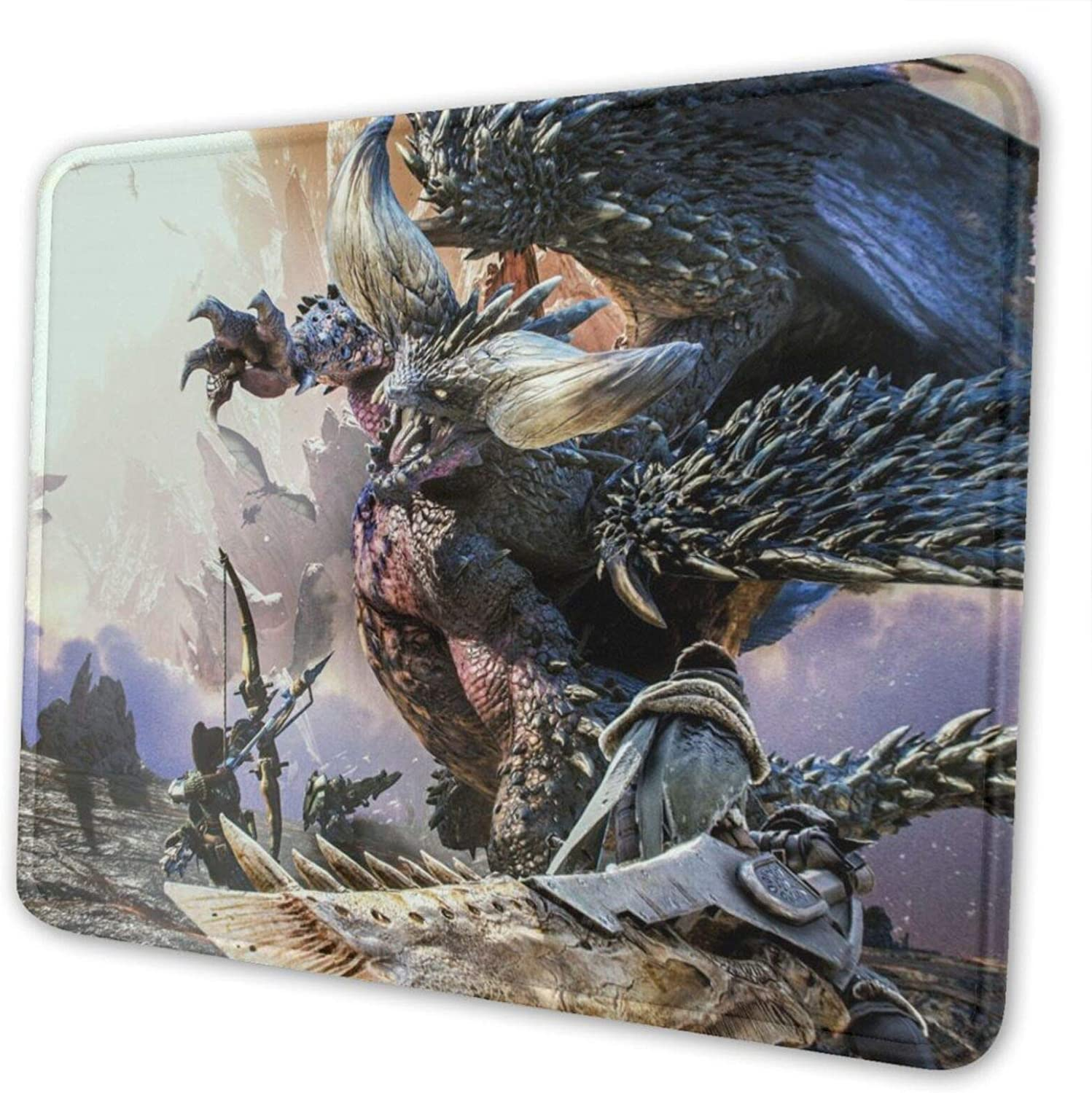 Monster Hunter Mouse Pad Gaming Computer Mat 10 X 12 inch Mousepad for Office Home Laptop PC