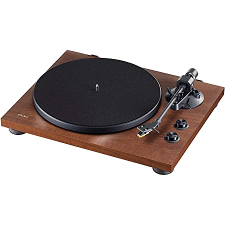 Teac Tn 280bt Wa Hi Fi Turntable With Bluetooth Transmitter For Speakers And Headphones Aluminium Die Cast Plate Belt Drive Mm Phono Preamplifier High Density Mdf Housing Black Brown Home Cinema Tv Video