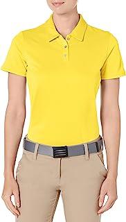 adidas Women's Tournament Short Sleeve Golf Polo (2019 Model)