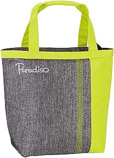 パラディーゾテニス(Paradiso Tennis) テニス バッグ トートバッグ バイカラー ラケット収納可 イエロー TRA930