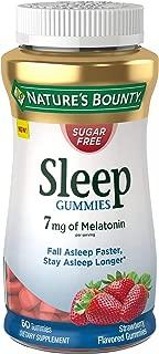 Nature's Bounty Nature's Bounty Sugar Free Sleep Gummies, 7 Mg of Melatonin, 60 Gummies, 60Count