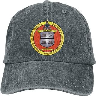 SLISL EIEI 3rd Battalion 11th Marines Adjustable Baseball Caps Denim Hats Cowboy Sport Outdoor