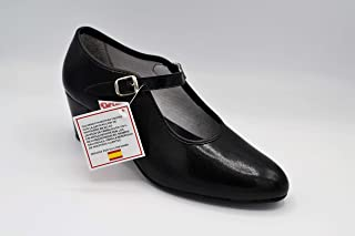48739f1b ANUKA Zapato de Mujer para la Danza Flamenco o sevillanas
