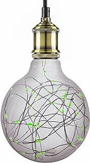 Sunlite G40 Globe Shaped Bulb, 40 Green LED Fairy Lights...