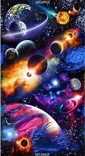 Timeless Treasures Midnight Bright Solar System 24