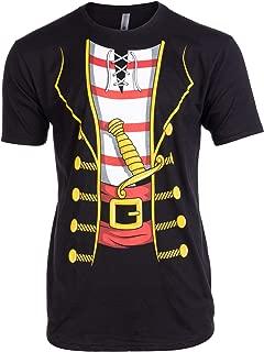 Tall Tee: Pirate Buccanneer | Jumbo Print Novelty Halloween Costume Man T-Shirt