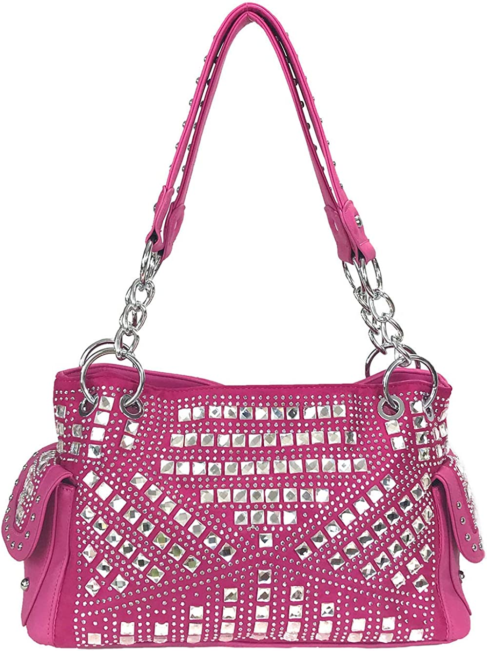 Zzfab Miami Mall Gem Studded Rhinestone Very popular Carry and Concealed Purse