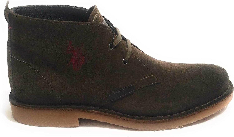 U.S.POLO ASSN. Men's Boots Dark Brown