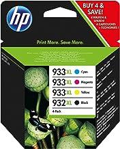 HP C2P42AE - Cartucho de Tinta Original, 4 unidades (negro, cian, magenta y amarillo)