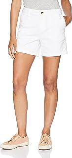 Amazon Essentials Pantalón Corto Chino con Entrepierna de 12,7 cm Mujer