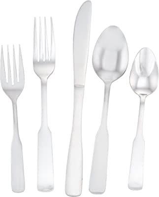 Utica Cutlery Derby Flatware Set, 20 Piece (Service For Four), Stainless