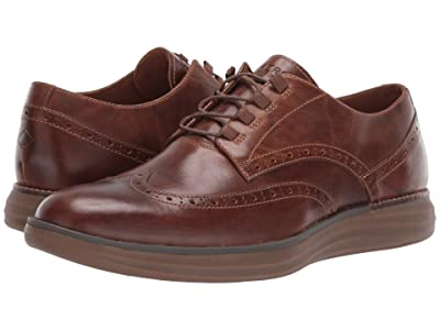Sperry Regatta Wingtip Oxford (Brown Leather) Men
