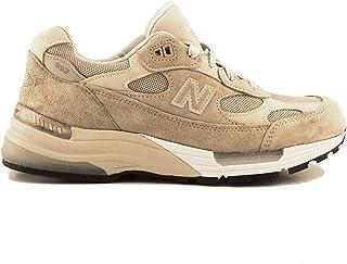 Luxury Fashion | New Balance Men NBM992TN Beige Synthetic Fibers Sneakers | Spring-summer 20