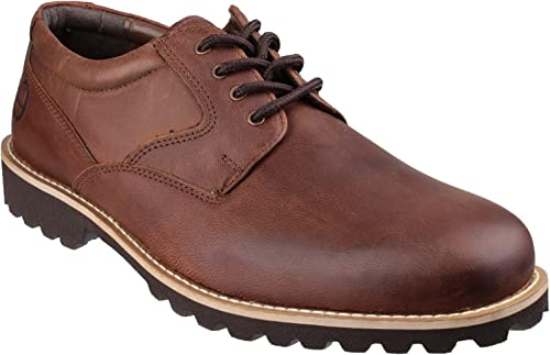 Cotswold Mens Tuffley Oiled Leather Casual Oxford zapatos