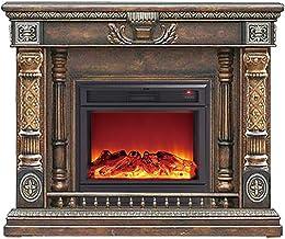 XIANGAI Calefactor Chimenea eléctrica montada en la Pared Chimenea eléctrica Estufa Calentador Chimenea habitación for los Familiares Llama Efecto portableelectric Fuego
