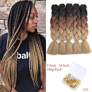 Best 3 toned braiding hair Reviews