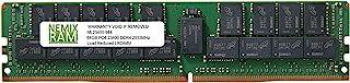 64GB (1x64GB) DDR4 2933 (PC4 23400) 4Rx4 288-ピン 1.2V ECC 負荷軽減メモリ NEMIX RAM